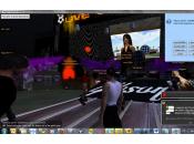 avatar fait premier concert monde virtuel avec Miss Ofely Cattleg