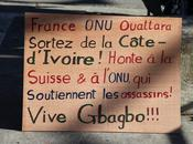 Manifestation soutien Laurent Gbagbo
