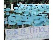 Paris Foot tance supporters l'OM