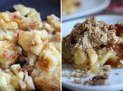 Poêlée pommes beurre salé crumble flocons
