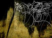 Hommage Pierre Soulages avec Calligraphie Abstraite