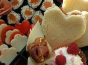 Bento Saint Valentin kitsch