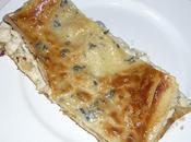 Lasagnes poulet-roquefort