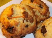 Cookies ricotta-amandes-orange-chocolat moelleux parfumés
