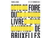 Foire livre Bruxelles pointés jeudi février