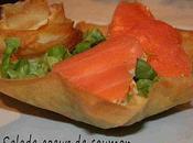 Salade coeur saumon