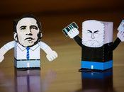 Barack Obama rencontrer Steve Jobs, Mark Zuckerberg Eric Schmidt...