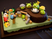 Angry Birds version comestible