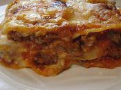 Lasagne sauce bolognaise viande hachée