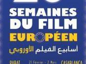 semaine film européen fevrier mars Casablanca Rabat