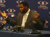 Michael Strahan veut finir Super Bowl