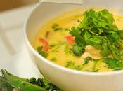 Soupe Thaï poulet crevettes galanga