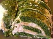Roulé d'épinard