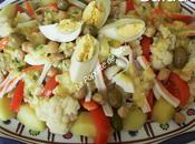 Salade Morue légumes