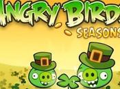 Angry Birds fête saint Patrick