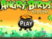 Angry Birds Seasons Saint Patrick disponible