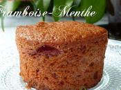 Cake framboises menthe Sophie Dudemaine
