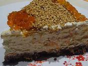 Cheesecake philadelphia, saumon sésame
