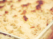 Crumble Airelles Pommes Cranberries Apple
