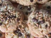 Cookies éclats nougatine pépites choco