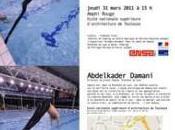 Conférence d'Abdelkader Damani, directeur VEDUTA, Biennale Lyon
