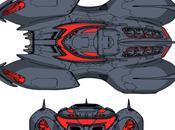 Universe Batmobile Batwin design