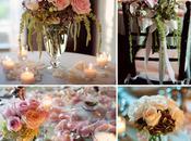 deco mariage avec fleurs {rose,corail, orangé}