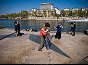 danseurs Square Tino-Rossi, Paris.