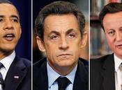 Libye Obama secours Sarkozy Cameron