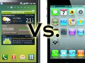 Apple attaque Samsung pour plagiat l'iPhone l'iPad