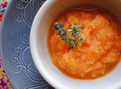 Purée carottes