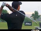 Tiger Woods filmé practice