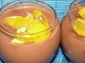 Verrine chocolat, orange speculos