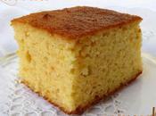 Gâteau moelleux amandes, citron, l'orange ...la pomme terre