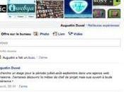 Facebook d'Augustin Duval