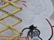 Flying Fortress Swanky Graffiti wall