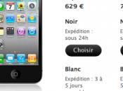 iPhone blanc disponible l'Apple Store