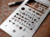 pochoir inspiré Windows Phone