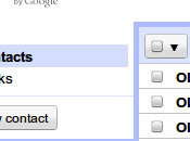 contacts compte Gmail