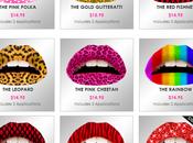 Après nail patch art, lips art!