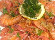Crevettes sautées