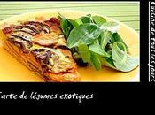 Tarte légumes exotiques (patates douces, caphaos, coco curry)