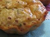 Muffins surimi, persil edam moutarde l'ancienne
