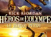 "chronique roman Héros l'Olympe héros perdu"" Rick Riordan"