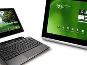 Acer, Asus annoncent l'arrivée d'Android pour Iconia A500 transformer début Juin
