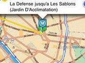 L'application iPhone Mappy intègre itinéraires transport commun