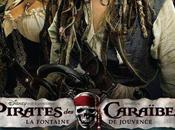 Pirates Caraibes Fontaine Jouvence Marshall avec Johnny Depp Penelope Cruz