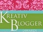 Kreativ Blogger Award pour Jasmin