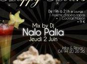 Juin: HAPPY HOURS Apéro-Tapas Nalo Palia Train Gourmand!
