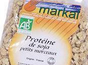 Plats végétarien partir protéines soja
